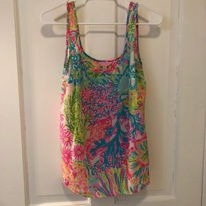 Lilly Pulitzer Silky Top
